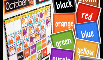 Making Color Words FUN For All