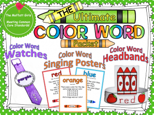 ultimate sight word package from the Moffatt Girls