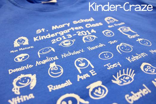 adorable class t-shirt idea