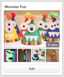 Monster Fun Pinterest board