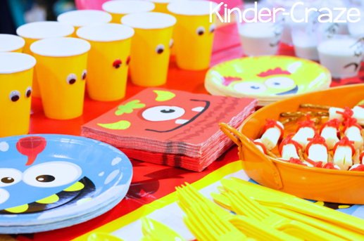 ideas for a monster theme Halloween party
