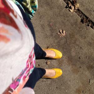 mustard Tieks for fall... love!
