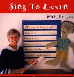 Sing to Learn CD from Dr. Jean