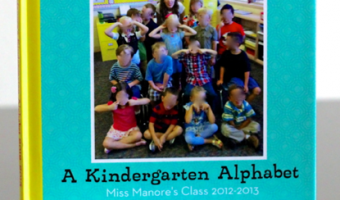 Teach the Alphabet with Shutterfly Photo Books