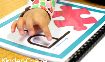 Alphabet Tracing Cards… Simple and SO Effective