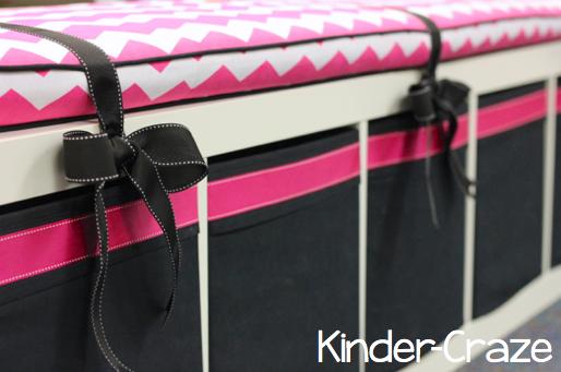 use an IKEA Expedit bookshelf as a classroom library bench