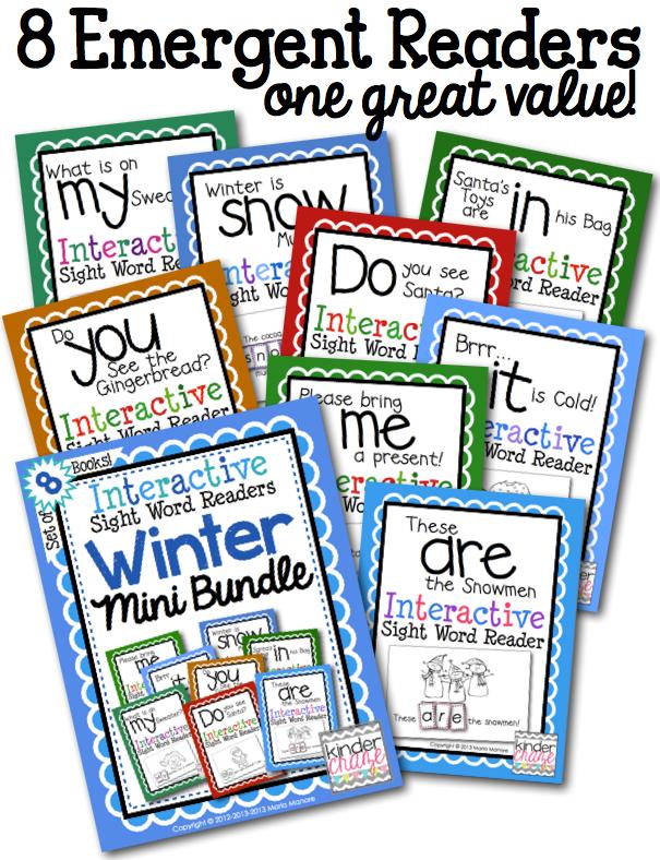 winter-mini-bundle-of-sight-word-emergent-readers