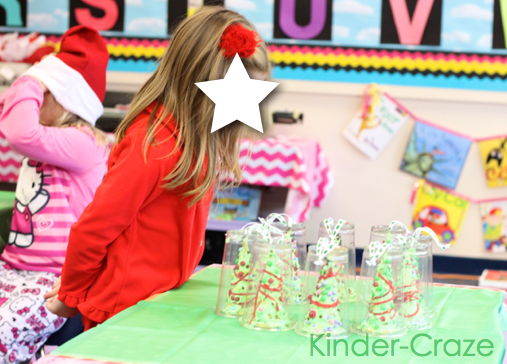 this blog post has lots of amazing ideas and great photos from a classroom Christmas party