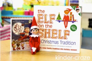 cute ideas and fun photos for elf on a classroom shelf