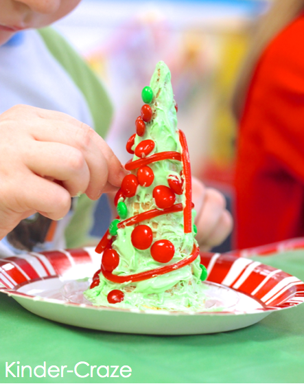 this blog post has LOTS of great ideas and photos for a children's Christmas party