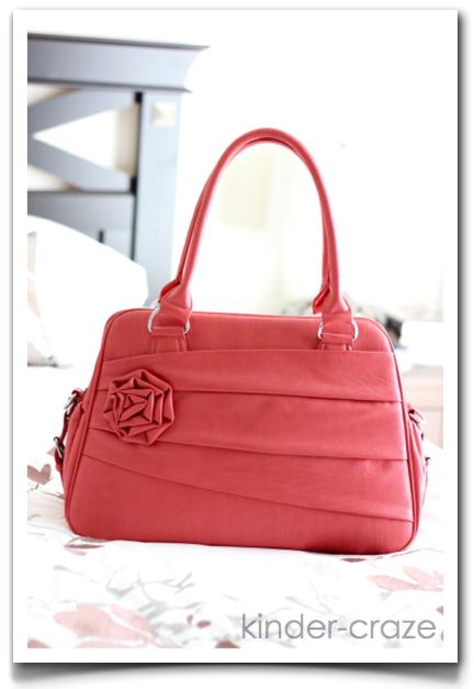 Rose Coral Jo Tote camera bag