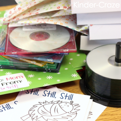 audio CDs of children's voices cute idea for parent gifts