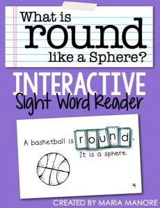 "emergent reader for sight word ""ROUND"""