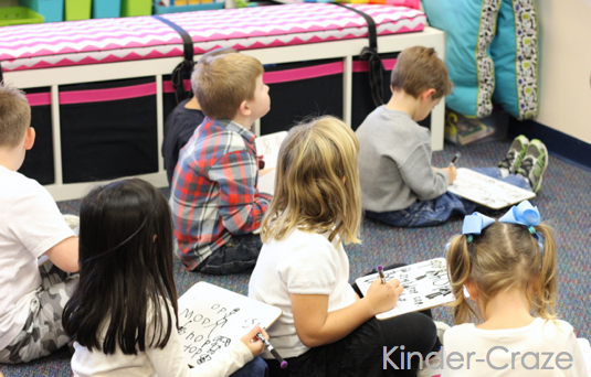 kindergarten word family activities