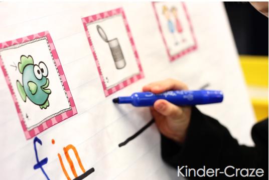 kindergarten rhyming words