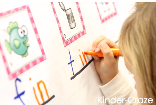 discovering word families in kindergarten
