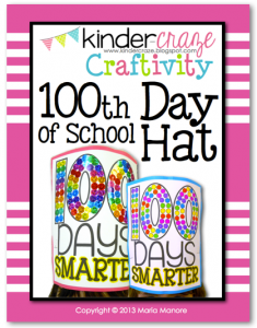 100th Day of School Hat… so cute!