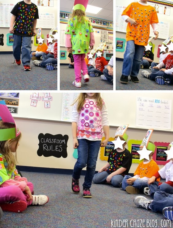 Have Students Make Tshirts For The 100th Day Of School Then Hold A Fashion Show
