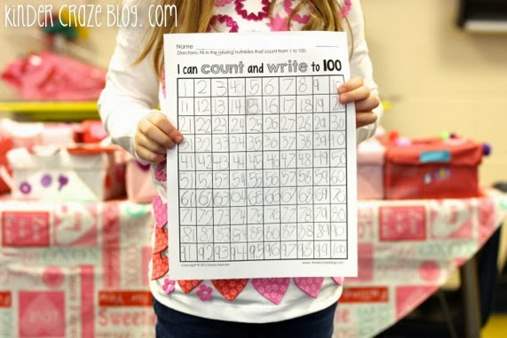 great product to help students learn to write numbers up to 100