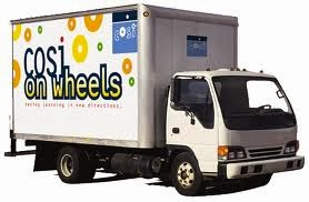 COSI on wheels truck