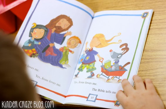 """""""Jesus Loves Me"""" I can read book"""