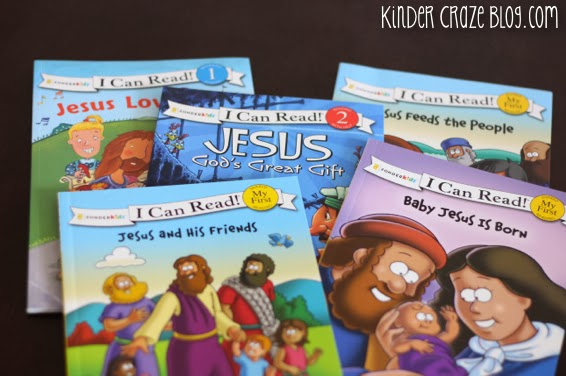"""""""I Can Read"""" books about Jesus"""