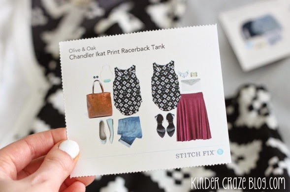 Stitch Fix online personal styling service. Someone else does the shopping for you!