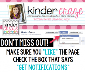 Don't miss any news from Kinder-Craze! Make sure you are getting Facebook notifications