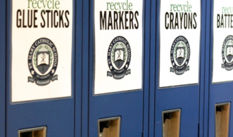 Creating a School-Wide Recycle Center