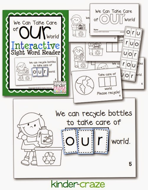 Perfect emergent reader for Earth Day!