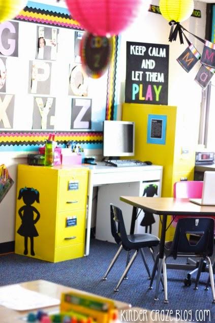 beautiful kindergarten classroom