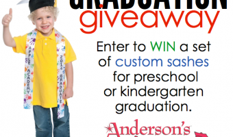 Andersons Custom Graduation Sashes GIVEAWAY