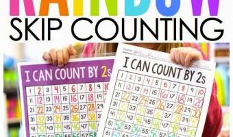 Rainbow Skip Counting
