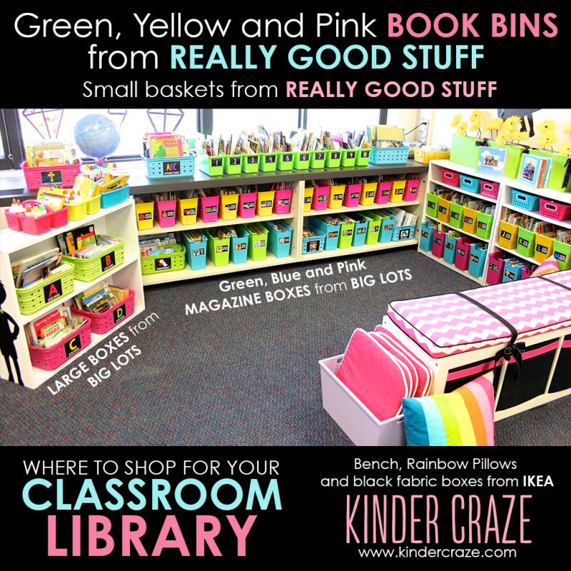 where to shop to furnish your classroom library