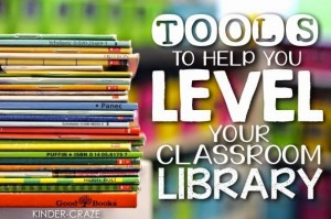 tools to help you level your classroom library
