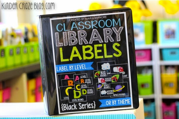 Every teacher needs these labels for classroom library organization