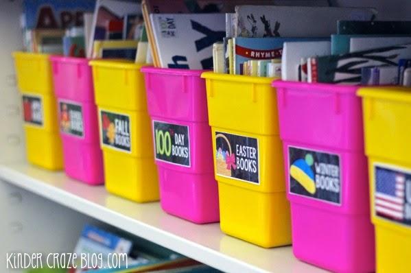 classroom library organization ideas