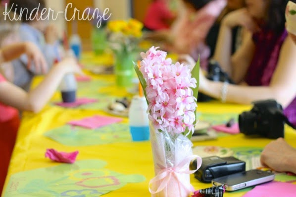 adorable kindergarten Mother's Day tea party ideas