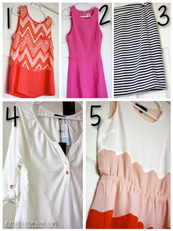 5 great hand-selected clothing items from Stitch Fix