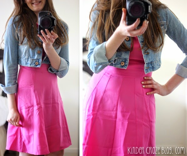 love this pink dress from Stitch Fix