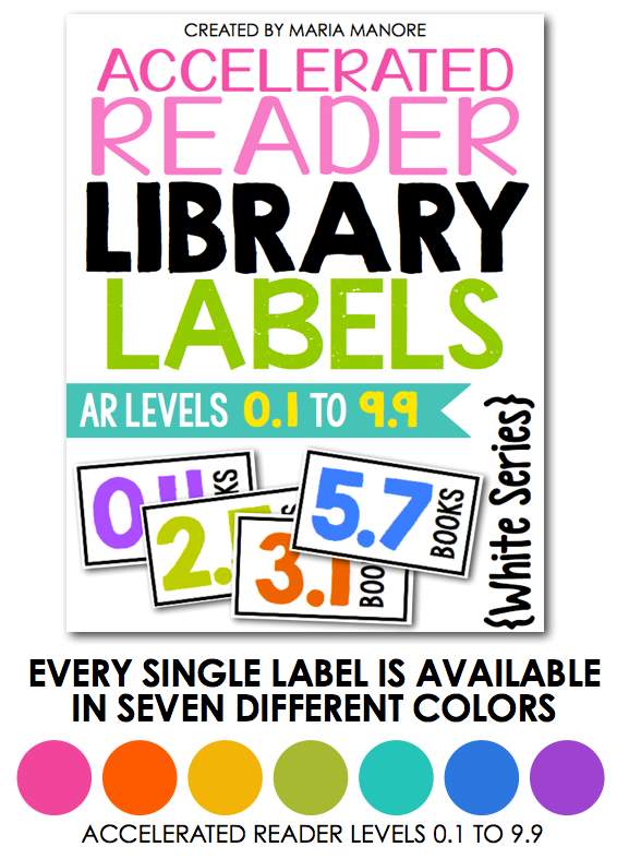 BIG Updates to help you Label Your Classroom Library… Now Featuring ...