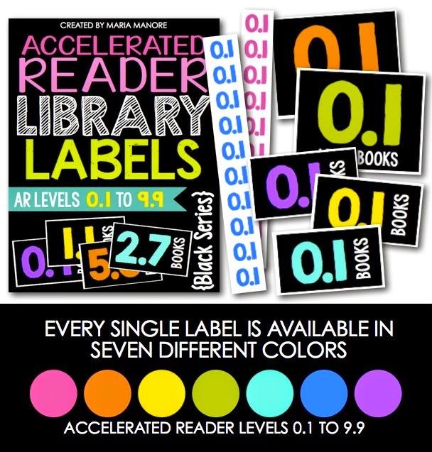 accelerated reader black labels