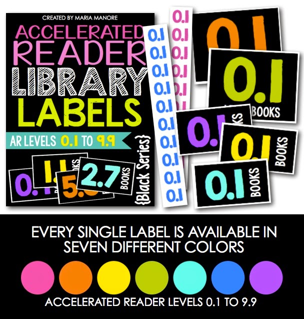 BIG Updates to help you Label Your Classroom Library… Now