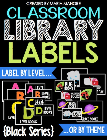 library labels black sereis cover pic
