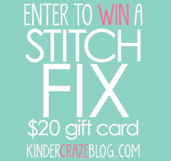 Enter to win a $20 Stitch Fix gift card!
