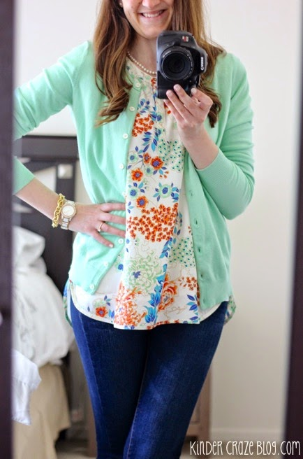 floral print blouse from Stitch Fix