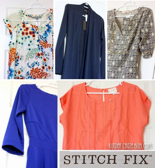 gorgeous clothes from Stitch Fix personal styling service