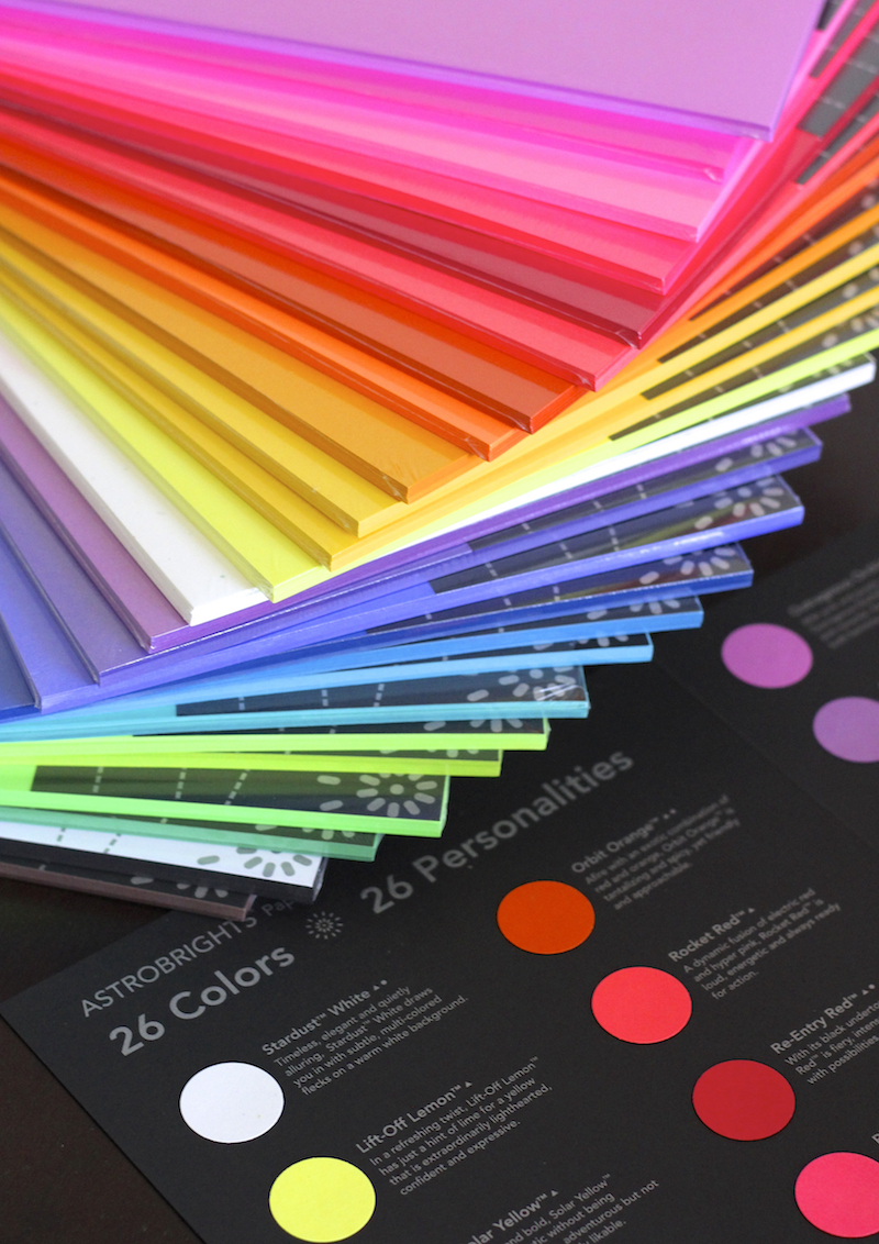 astrobrights paper colors