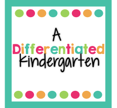 A differentiated kindergarten button