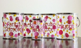 Cutest Ever Supply Pails Giveaway